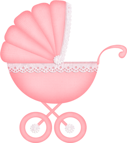 picture download Carriage clipart frame. It s a girl.