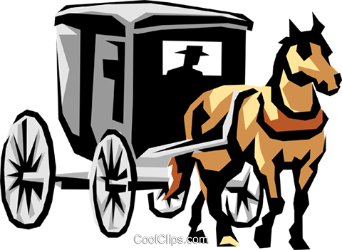 banner freeuse library Horse and buggy drawing. Carriage clipart sleigh
