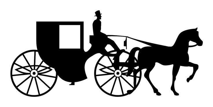 banner royalty free library Carriage clipart wedding carriage. Free cliparts download clip.