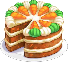 vector stock Carrot clipart cooked carrot. Cake chefville wiki fandom.