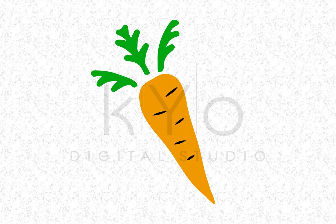 clip library download Carrot clipart file. Svg dxf png eps.