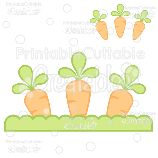 image royalty free library Planted carrots free svg. Carrot clipart file.
