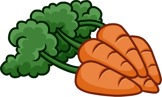 banner library download carrot clipart individual vegetable #77196762