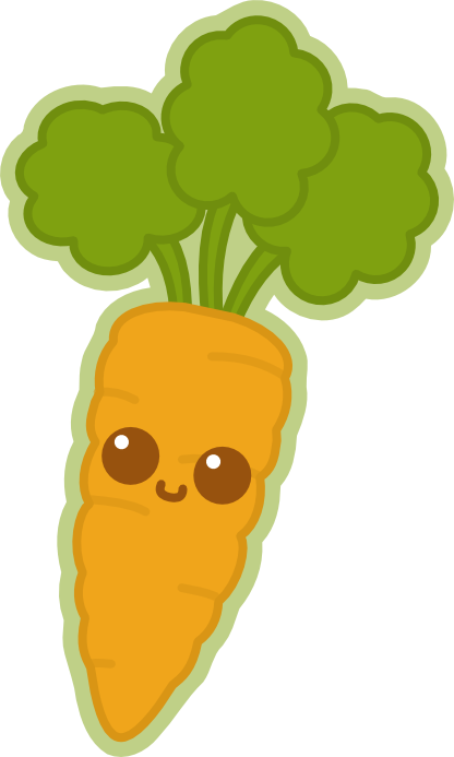 picture free library Google search all kind. Carrot clipart kawaii