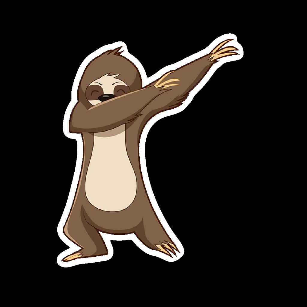 clip freeuse library Cute sloth at getdrawings. Carrot clipart kawaii