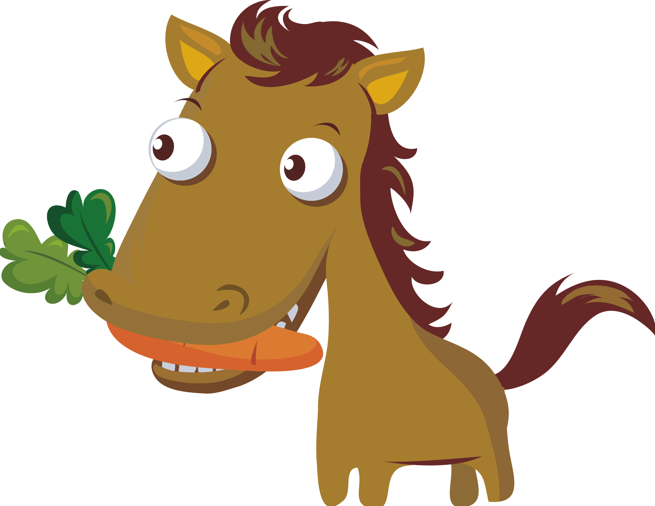 jpg freeuse download Carrot clipart horse