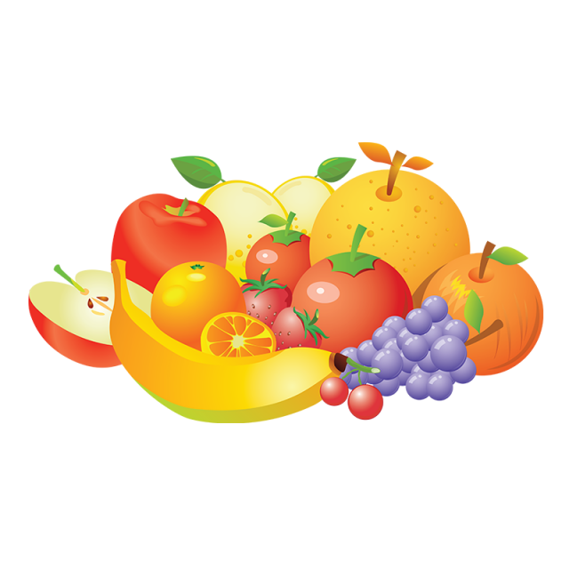 png transparent library Vector carrot realistic. Fruit collection png orange