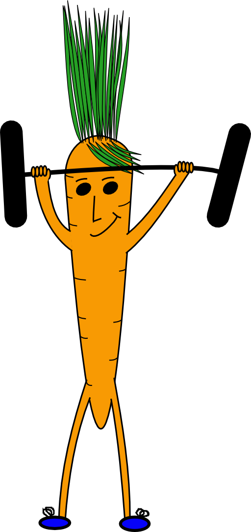 png library Carrot clipart strong
