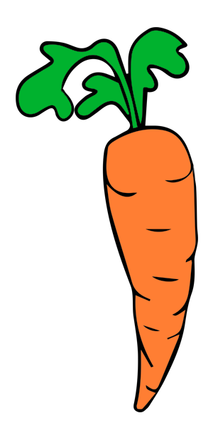 clip freeuse library Carrots Clipart Free