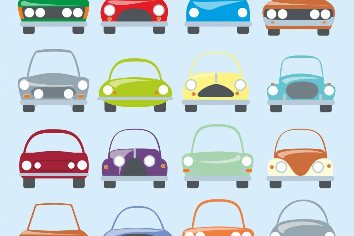 clipart library download Digital printable car stickers. Cars clipart.