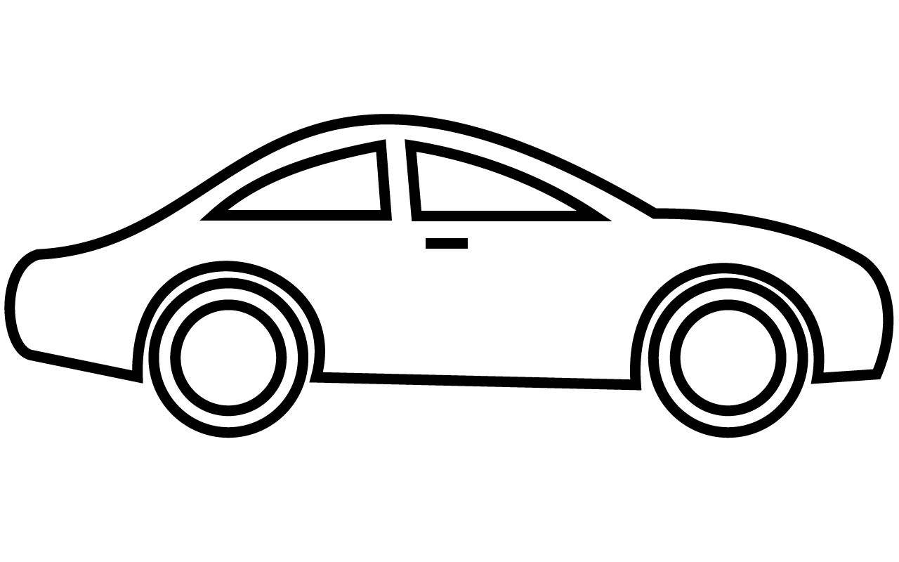 clip royalty free Cars clipart. Car black and white.
