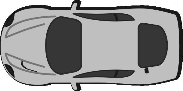 vector stock Car top view panda. Cars clipart plan.