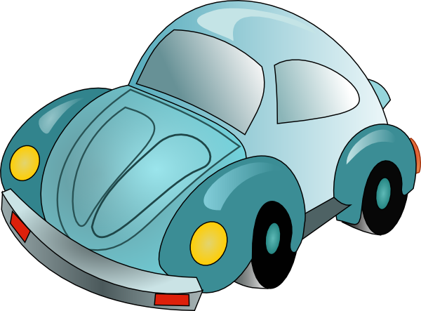 clip transparent library Cartoon vw beetle image. Vector cartoons car