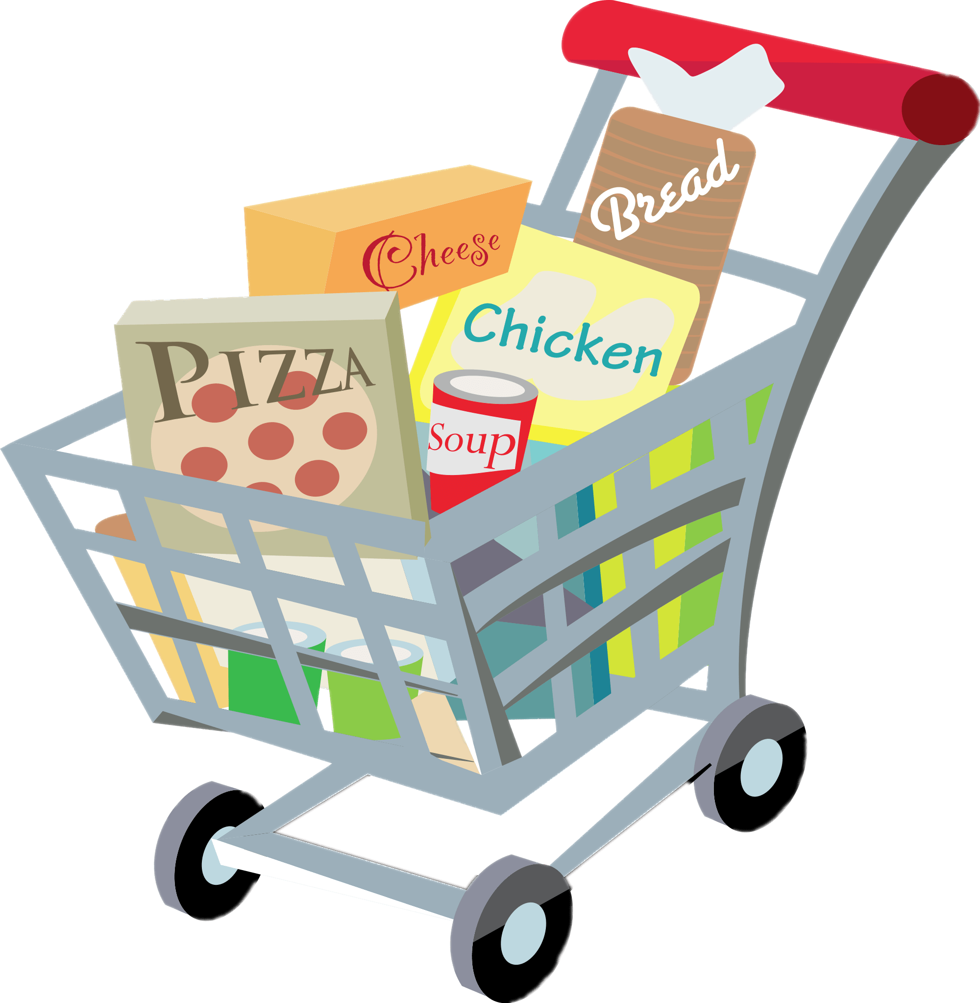 picture free Shopping transparent png stickpng. Cart clipart.