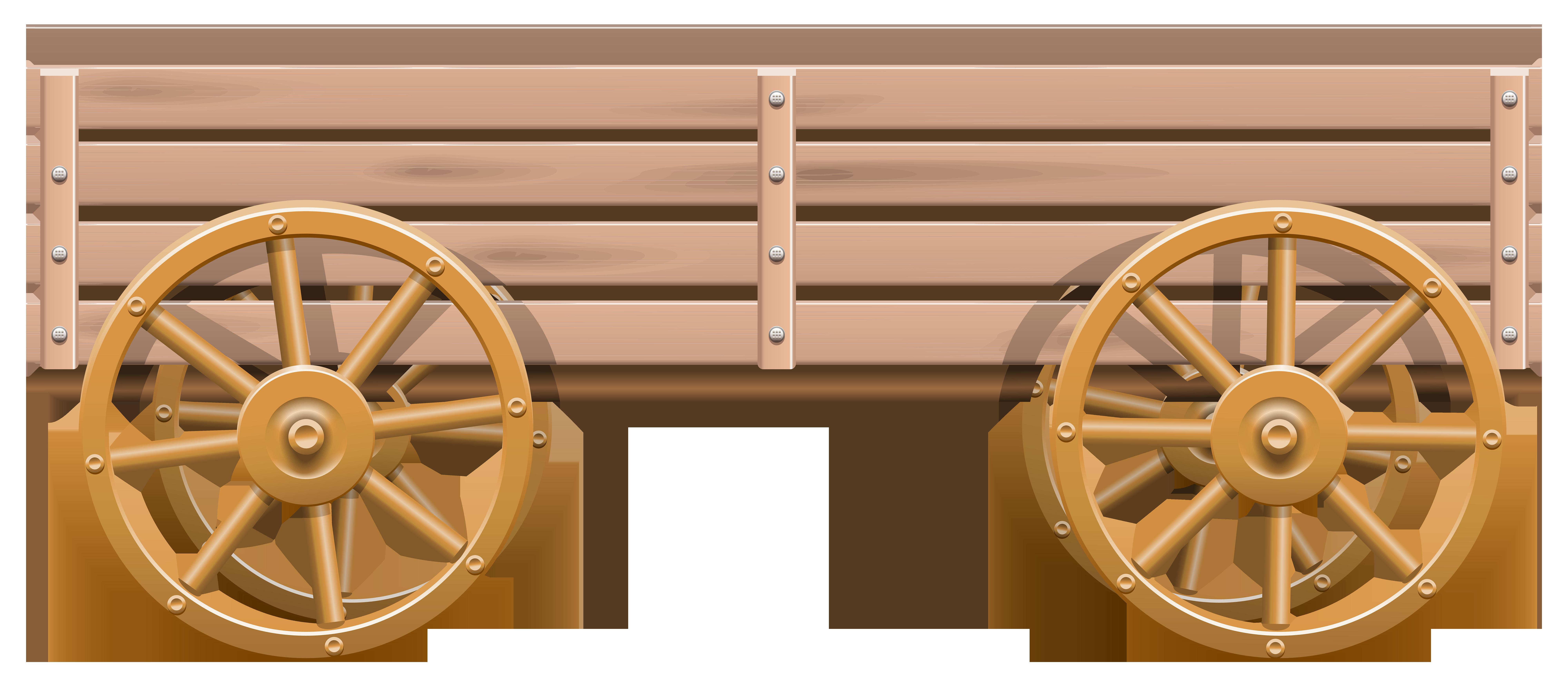 image transparent Cart clipart. Wooden png clip art