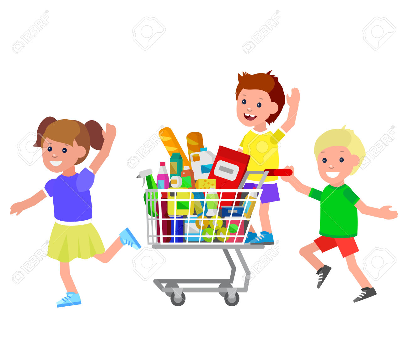 royalty free library Transparent png free download. Cart clipart child.