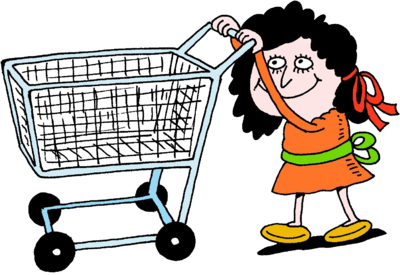 vector free library Cart clipart child.  collection of pushing.