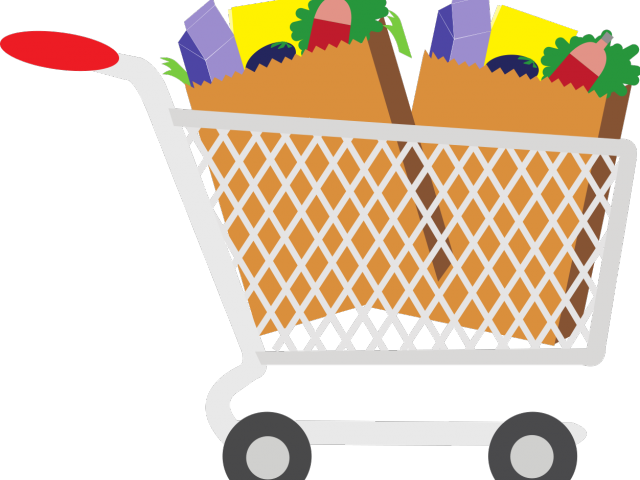 clipart library stock Cart free on dumielauxepices. Supermarket clipart coloring