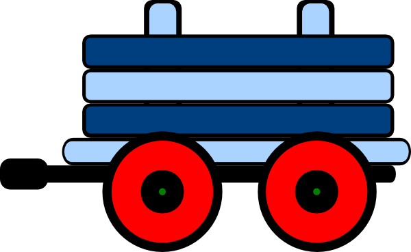 png transparent Carriage royal blue free. Caboose clipart train cart.