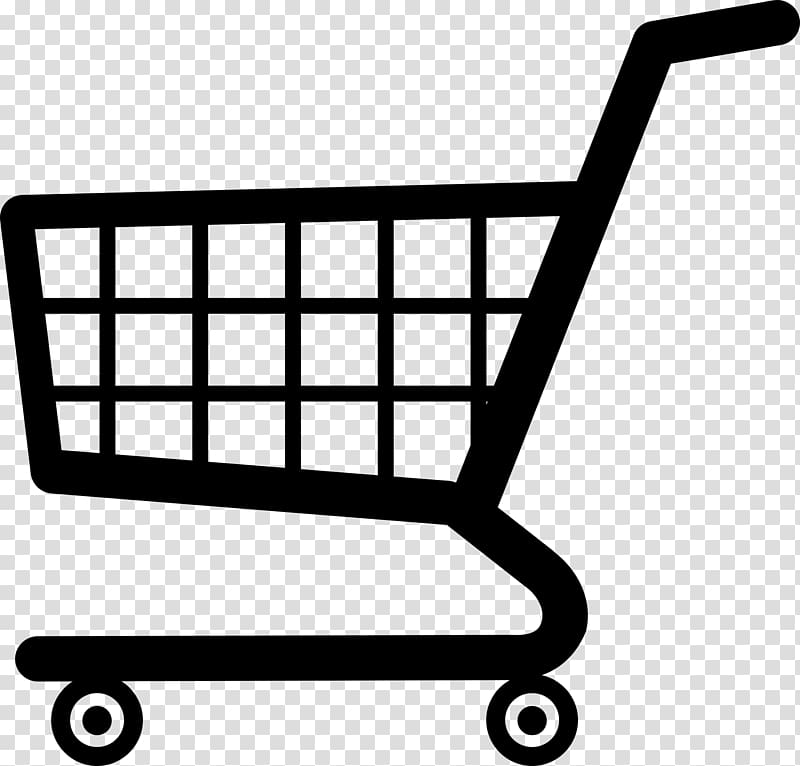 freeuse library Shopping cart decoration . Supermarket clipart trolley
