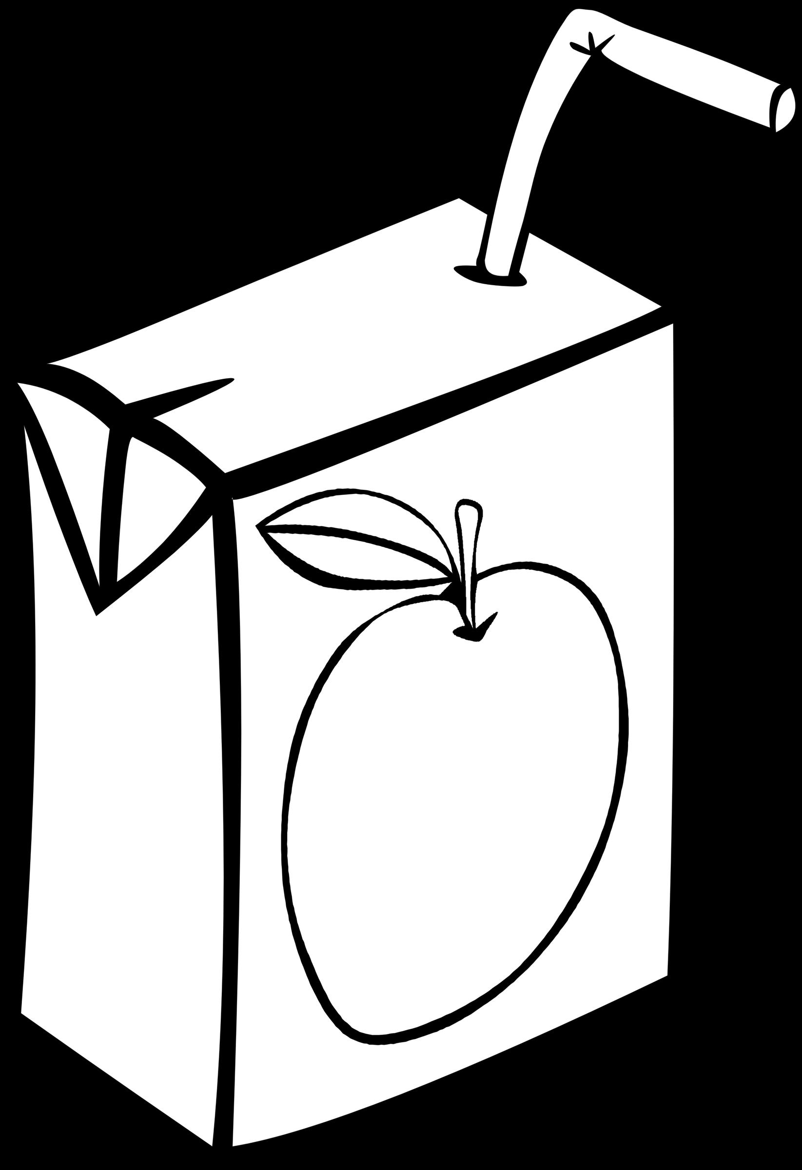vector stock Milk juice free on. Carton clipart