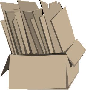 png transparent Carton clipart. Packing box clip art