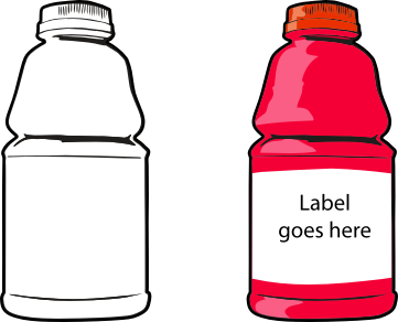 clipart free download Cartoon Clipart water bottle