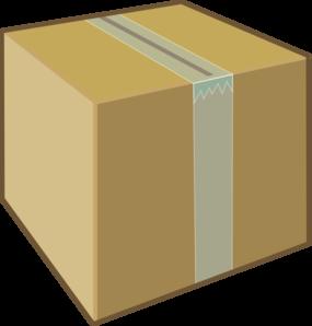 banner Cardboard Box Clip Art at Clker