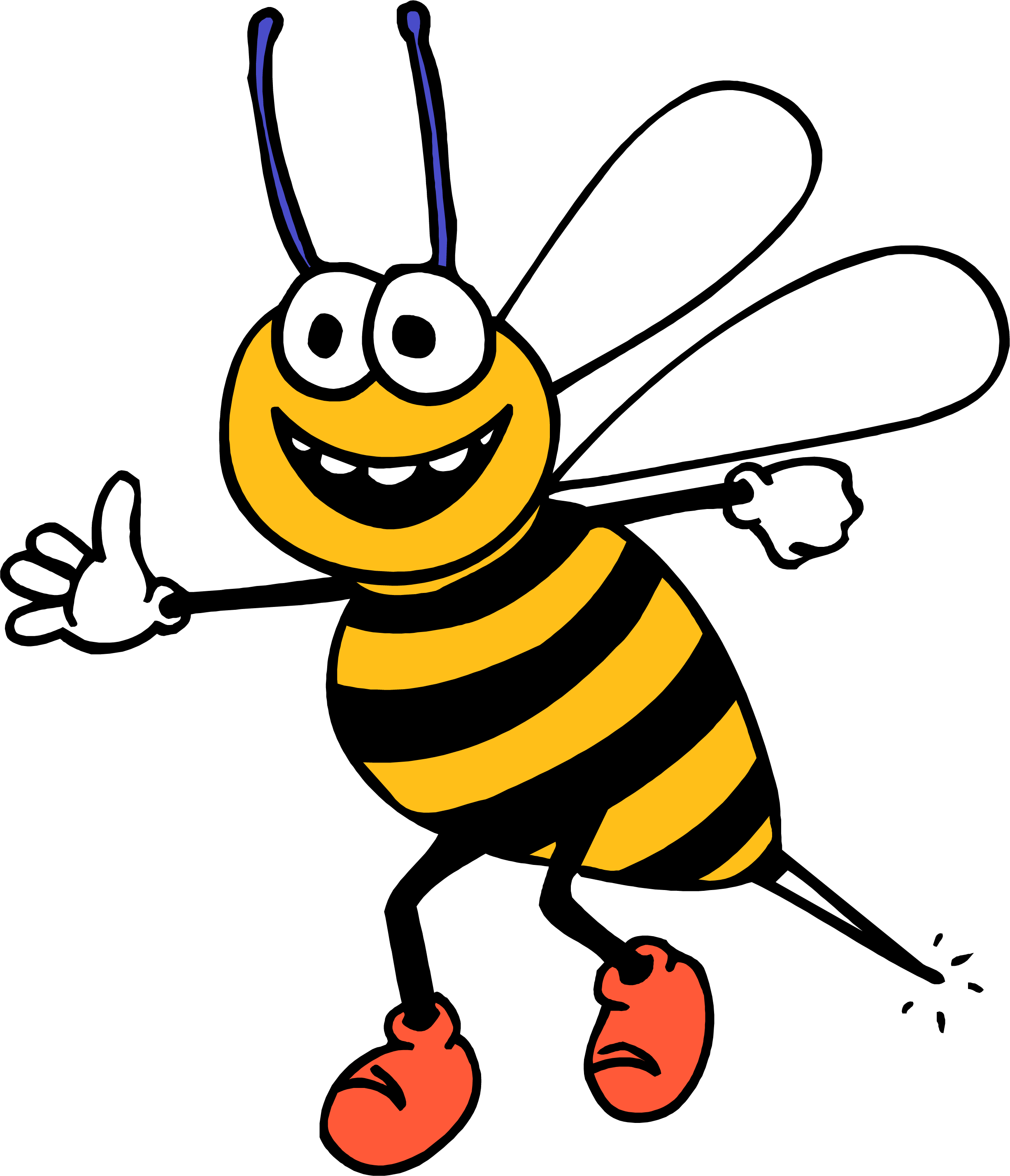svg free Honey Bee Clipart at GetDrawings