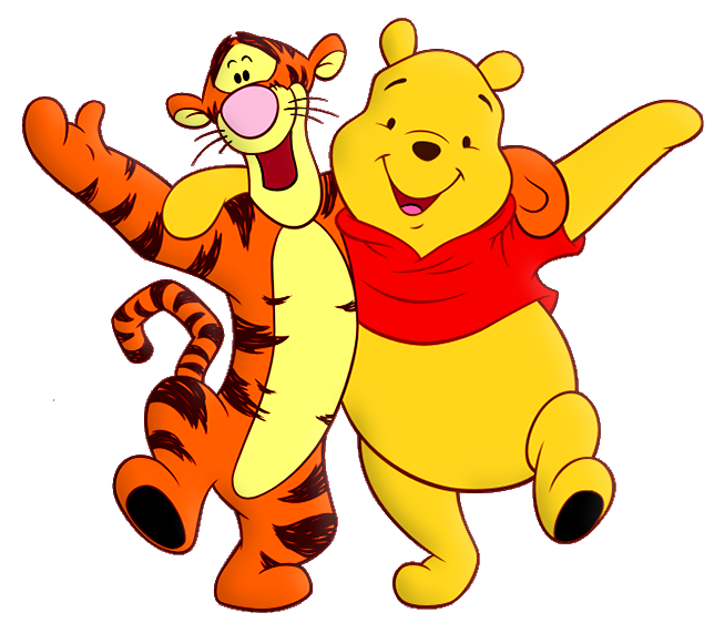 banner library download Winnie the pooh and. Cartoon clipart
