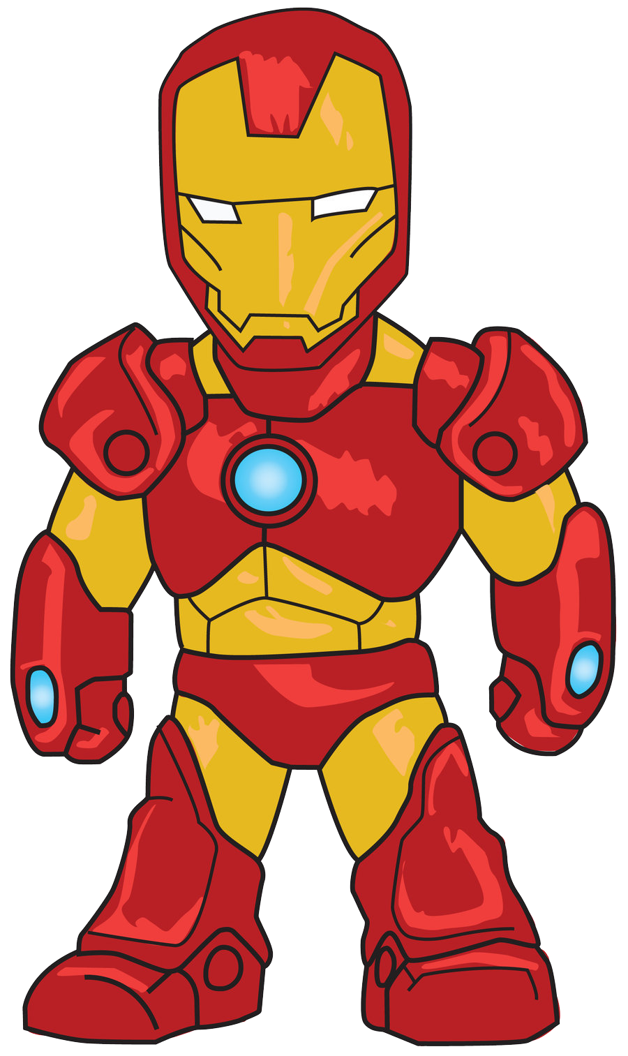 banner free download Iron man clip art. Cartoon clipart