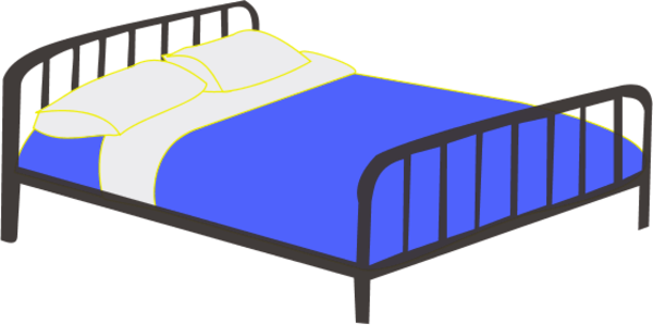 picture freeuse library Cartoon clipart bedroom. Pictures of beds desktop.