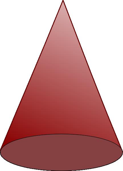 clip free stock cone shape clipart #61546080