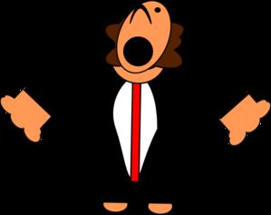 clip art black and white stock Cartoon clipart singer. Opera clip art at.