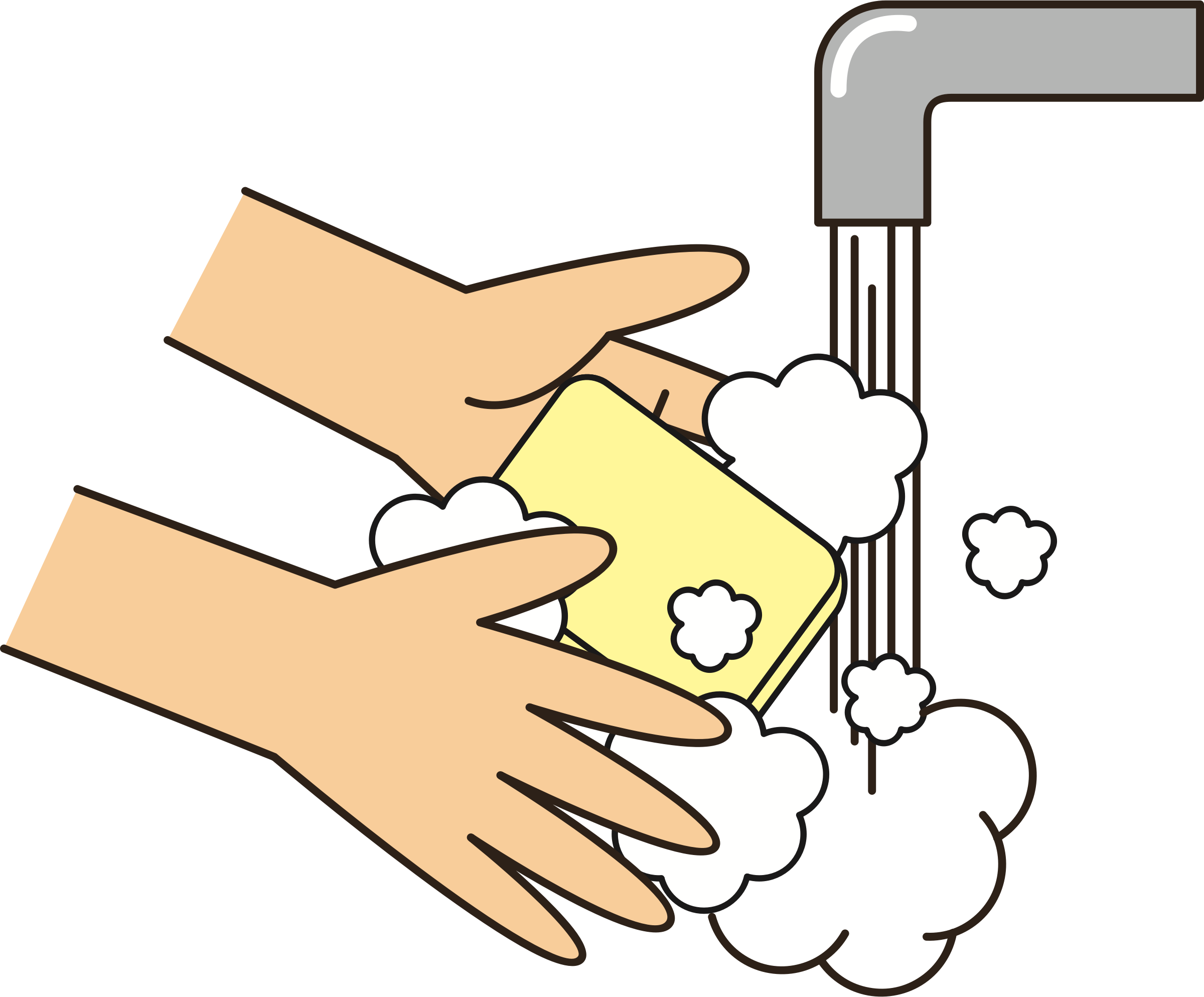 graphic free download Wash clipart wash board. Your hands with soap