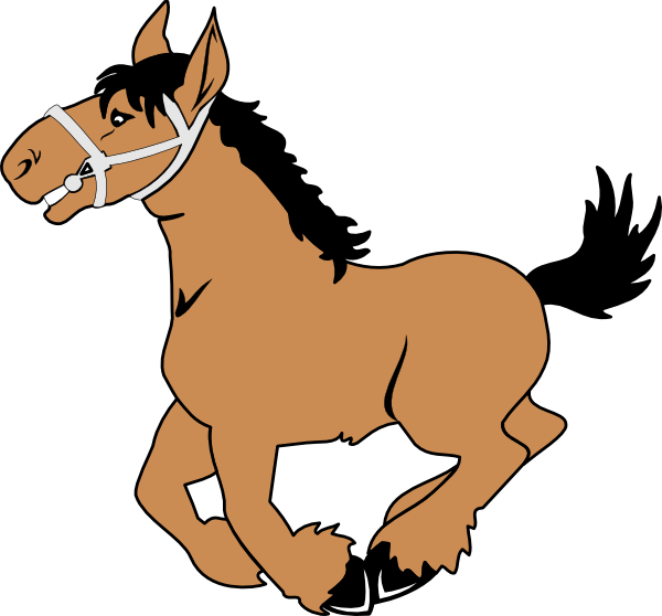 clip freeuse library Clip art at clker. Cartoon horse clipart.