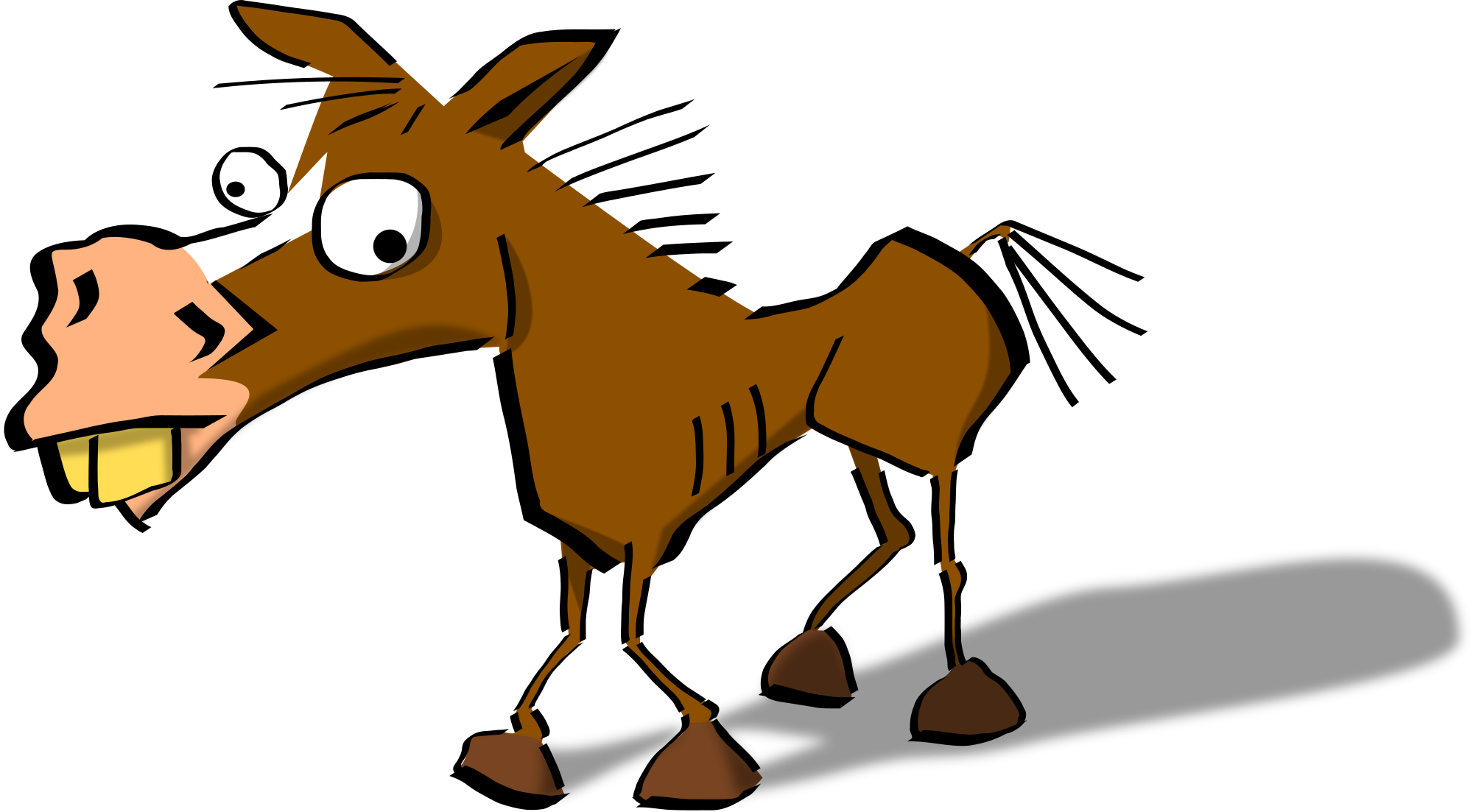 svg royalty free stock Funny Horse Clipart at GetDrawings