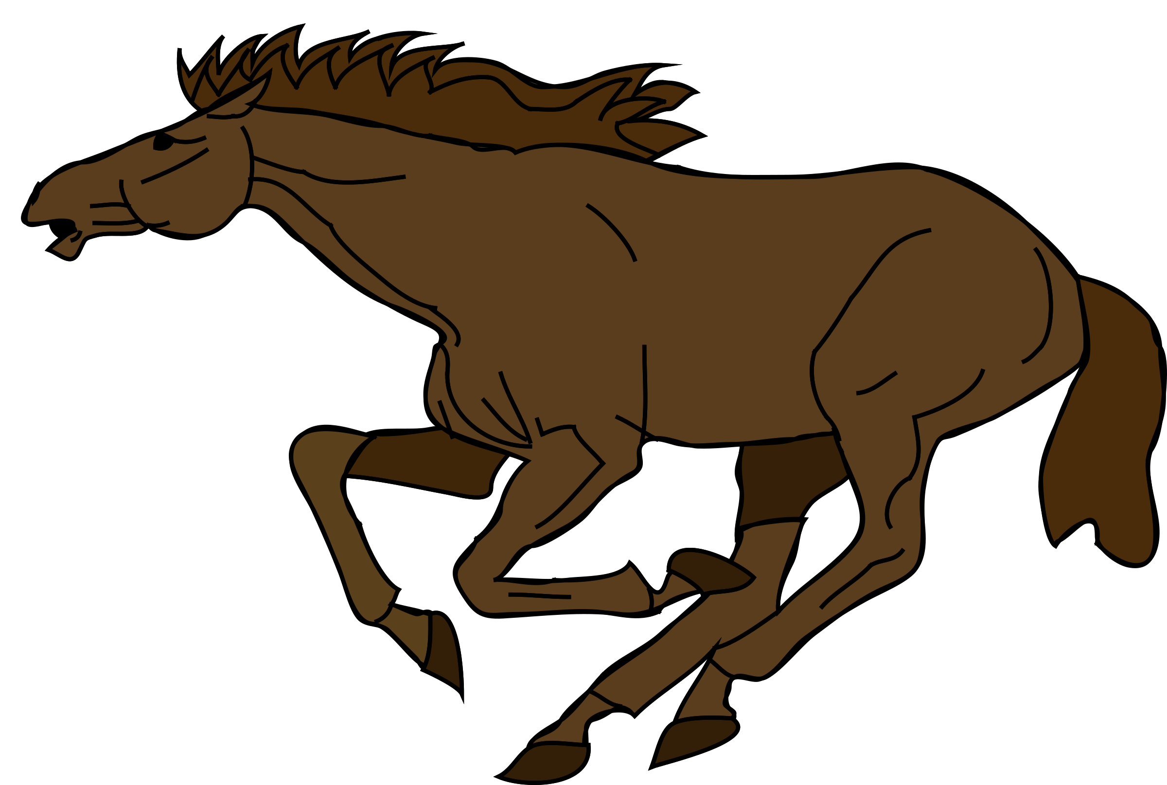 clipart freeuse Running Horse Clipart at GetDrawings