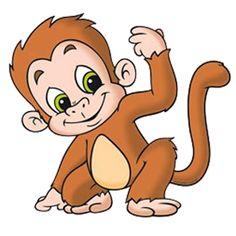 jpg transparent library Free cartoon monkey cliparts. Ape clipart animated