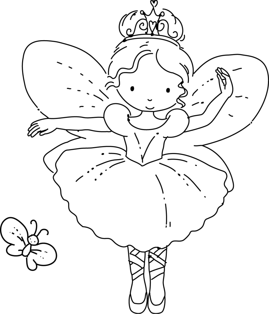 jpg free Adult coloring pages babies. Drawing printables fairy