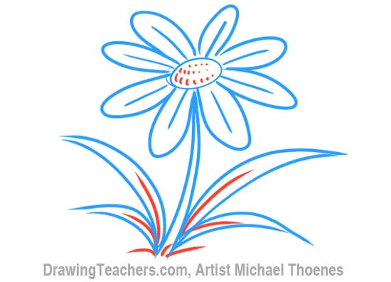 png free download Cartoons drawing flower. Cartoon how to draw