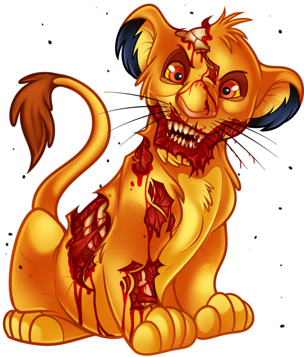 png transparent library Undead simba from the. Mufasa drawing realistic