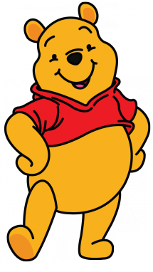 clipart black and white download How to Draw Winnie the Pooh