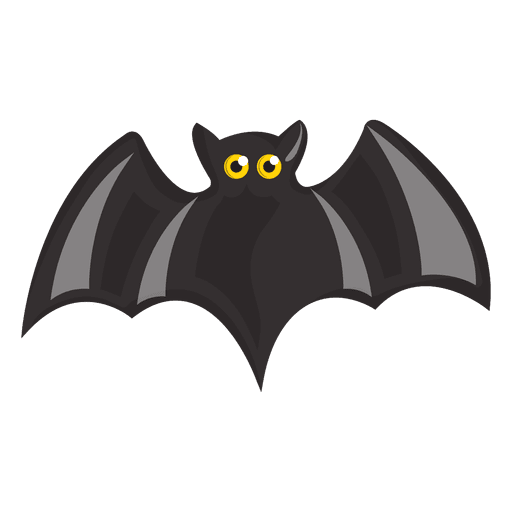 graphic library Black bat cartoon