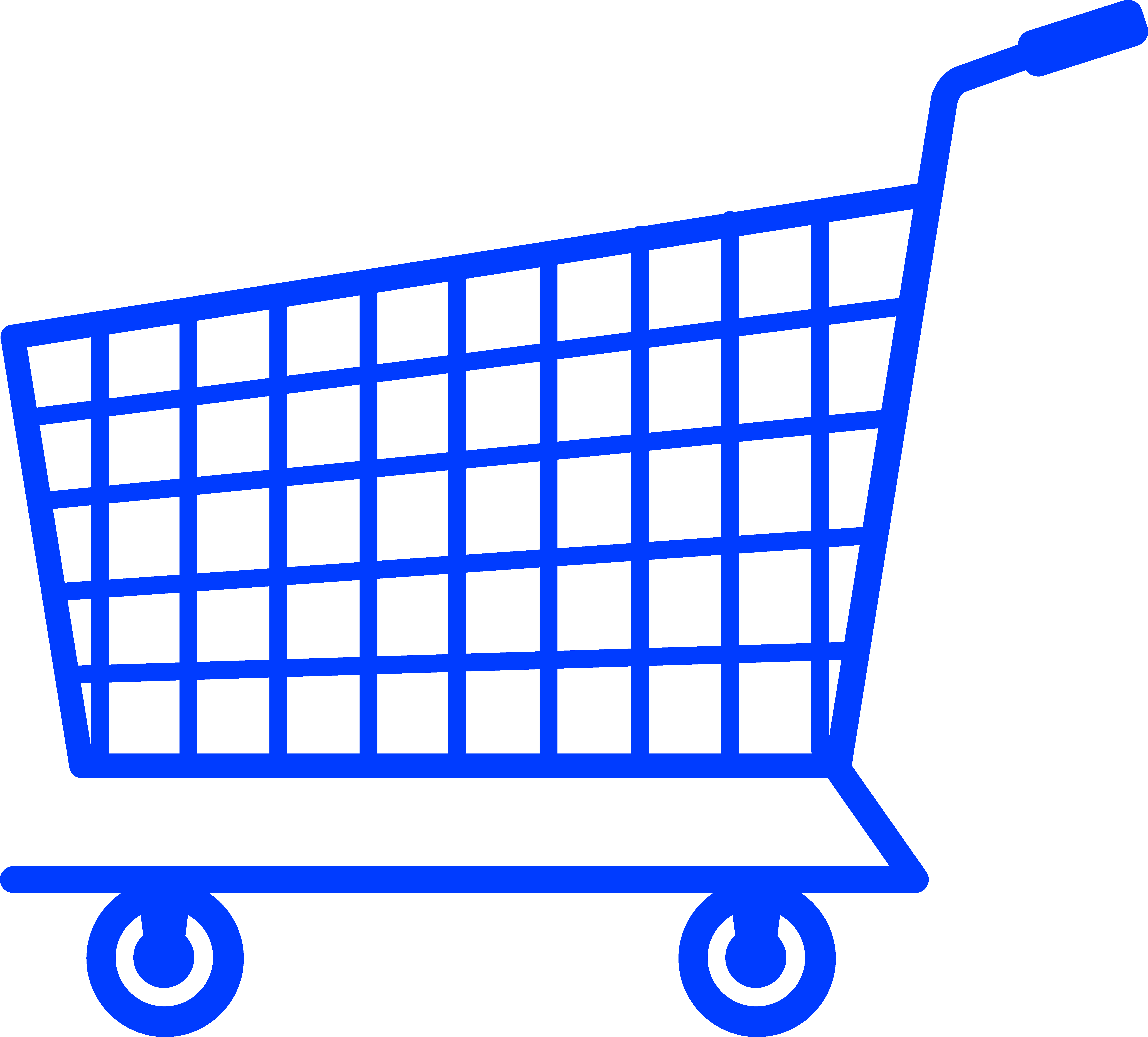 black and white download Supermarket clipart. Simple blue shopping cart