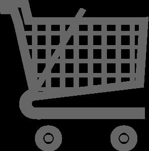clipart free stock Carts clipart. Grey shopping cart clip.