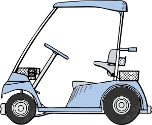 stock Golf cart clip art. Carts clipart.