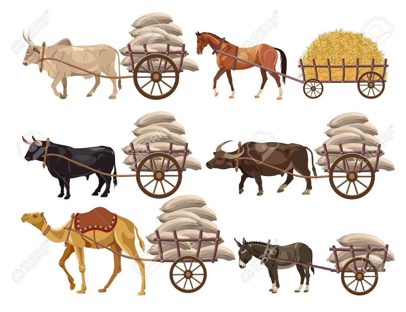 jpg library stock Free cart download clip. Carts clipart buffalo.
