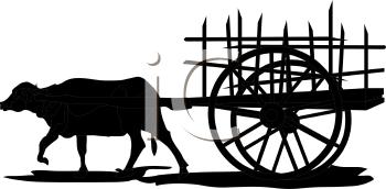 banner freeuse library Royalty free clip art. Carts clipart buffalo.