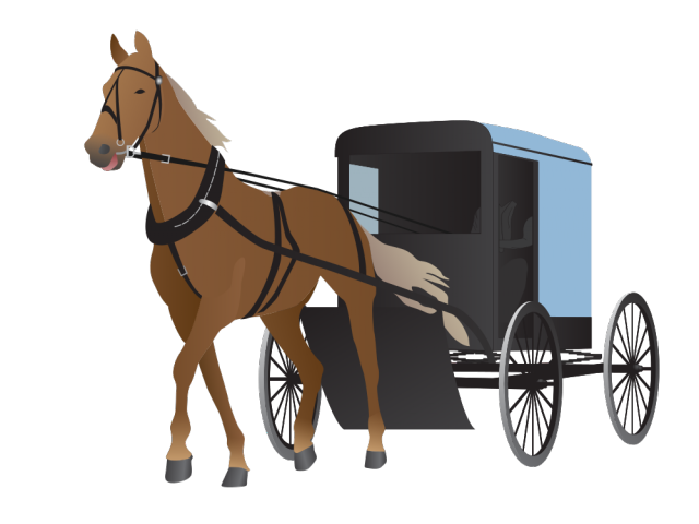 image royalty free Horse Drawn Carriage Clipart calesa